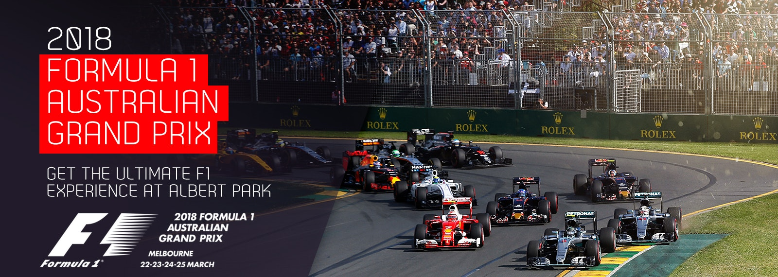 2018 Formula 1 Australian Grand Prix Melbourne Free Wifi